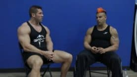 Bostin Loyd and Tyler Woosley talk about Steroids & Drugs in bodybuilding