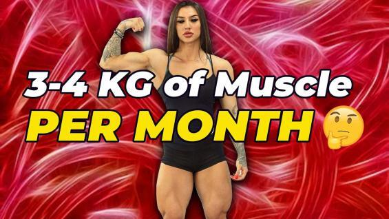 "Bakhar Nabieva's Coach: ""She Can Gain 3-4 KG Of Muscle PER MONTH"" 🤔"