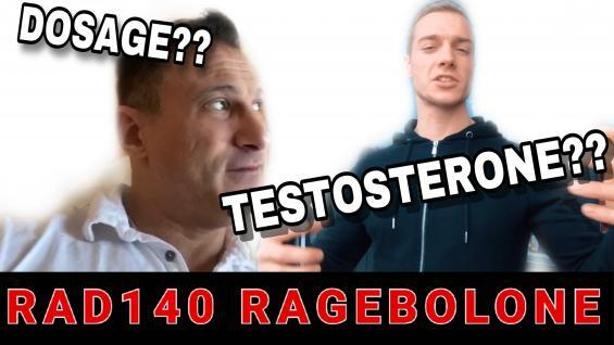 Ragebolone and Testosterone. W/ Dr Tony Huge (Injectable Sarms)