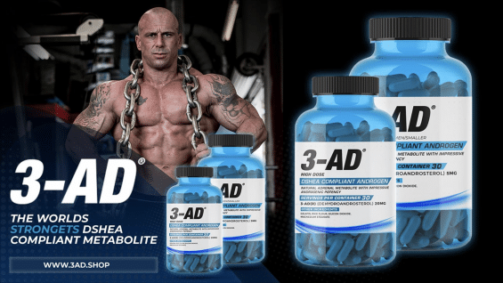 3-AD The New Legal Pro-hormone Supplement by Enhanced #Hardcore