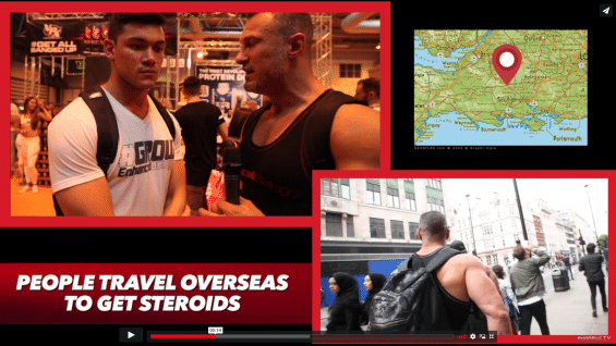 Steroids in England