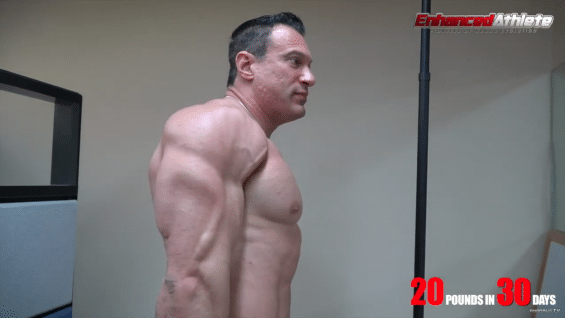 20 Pounds of Muscle In 30 days – Episode 4 – Enhanced Transformations